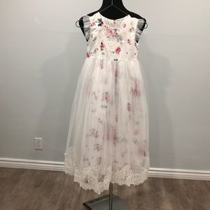 Other - BNWT floral tulle dress